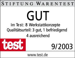 Stiftung Warentest | Kfz-Werkstatt Konzepte